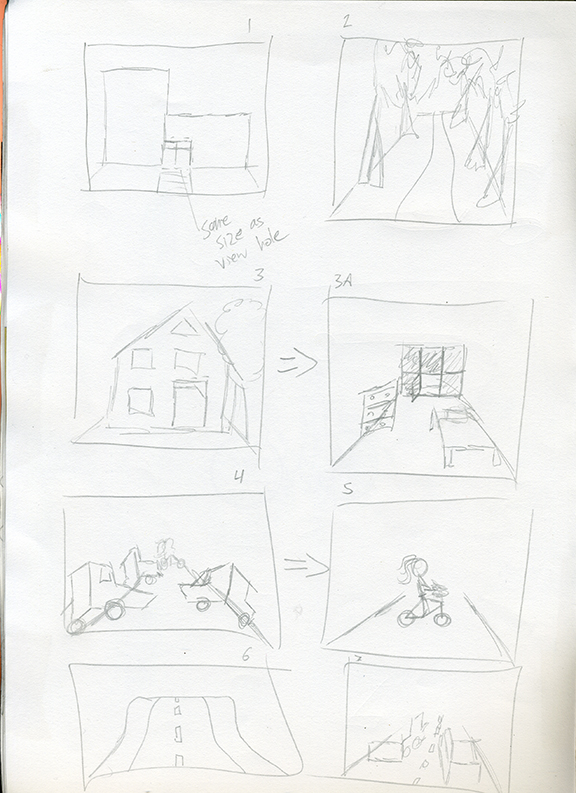 More story boarding.